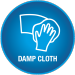 Vivalife damp cloth