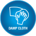 Vivalife damp cloth