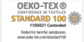 Vivalife fabrics are oeko-tex certified